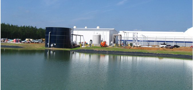 Battery Recycliing Center's Wastewater and Stormwater Treatment Plant